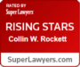 Super Lawyers Badge Collin Rockett